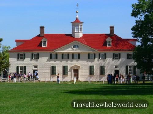 George Washington Mansion Mt. Vernon