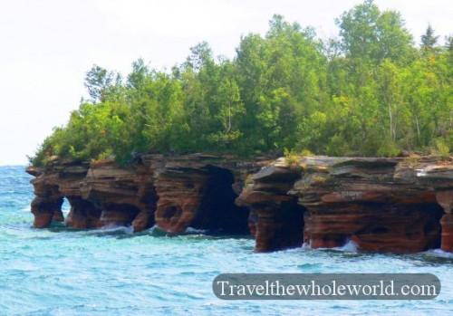 Apostle Islands Caves
