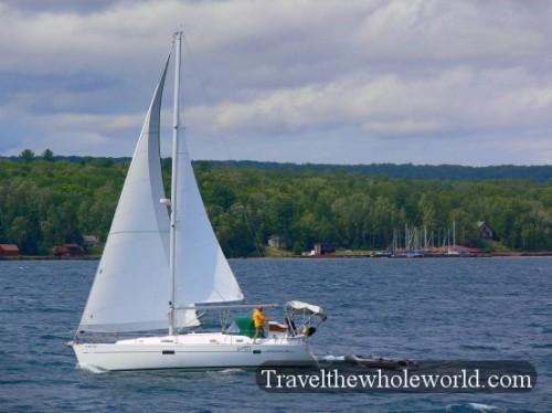 Wisconsin Apostle Islands Sailboat