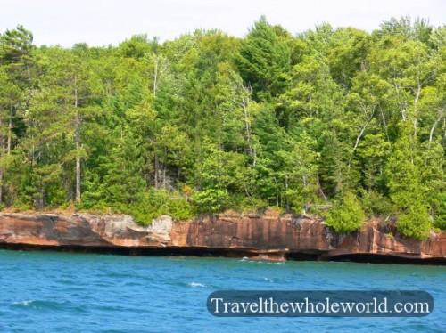 Wisconsin Apostle Islands Shore