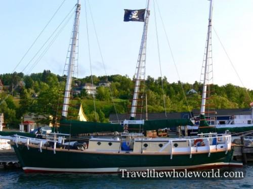 Wisconsin Bayfield Pirate Ship