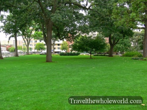 Wisconsin Madison Capitol Lawn