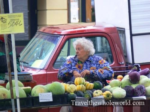 Wisconsin Madison Old Lady