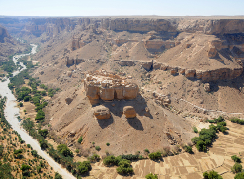 Yemen Central Canyon