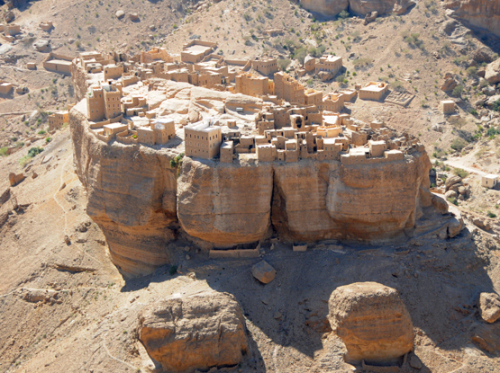Yemen Central Canyon City