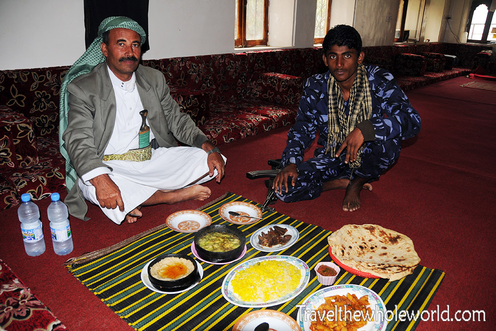 Yemen Manakha Lunch