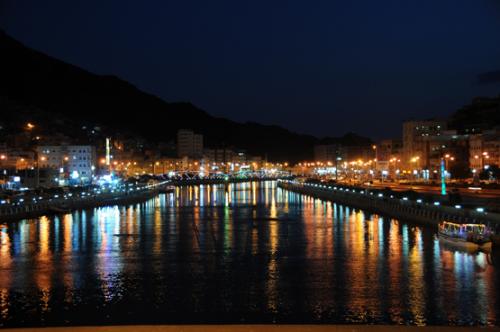 Yemen-Mukalla-Night