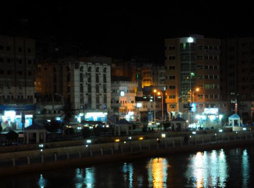 Yemen Mukalla Night