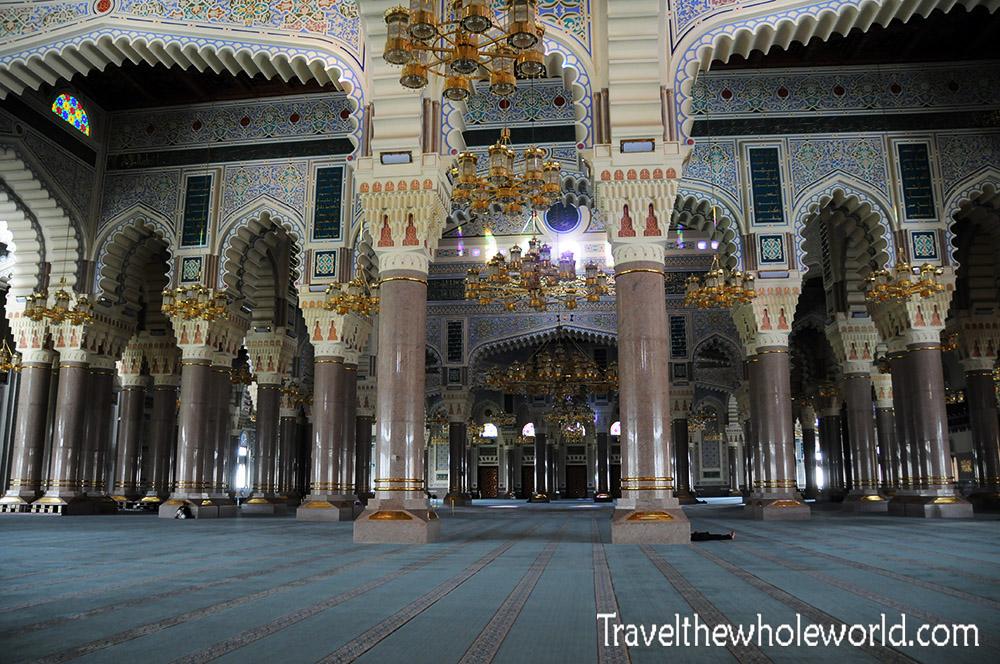 Yemen Sana'a Saleh's Mosque Inside