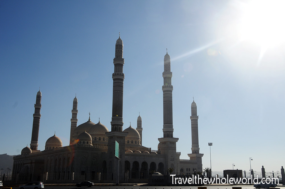 Yemen Sana'a Saleh's Mosque