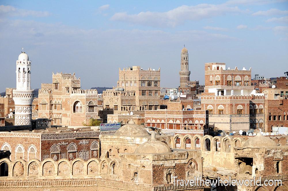 Yemen-Sana'a-Old-City-View