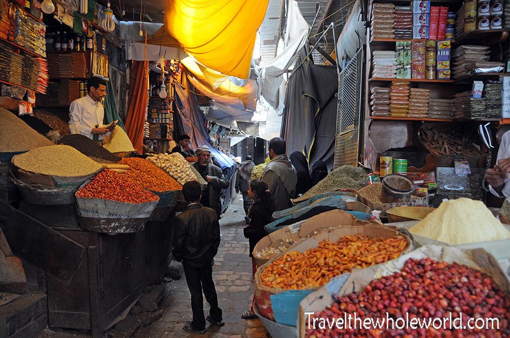 Yemen Sana'a Suq Spices
