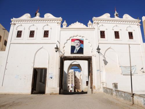 Yemen Shibam Gate