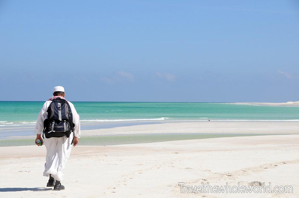Yemen Socotra Beach Local