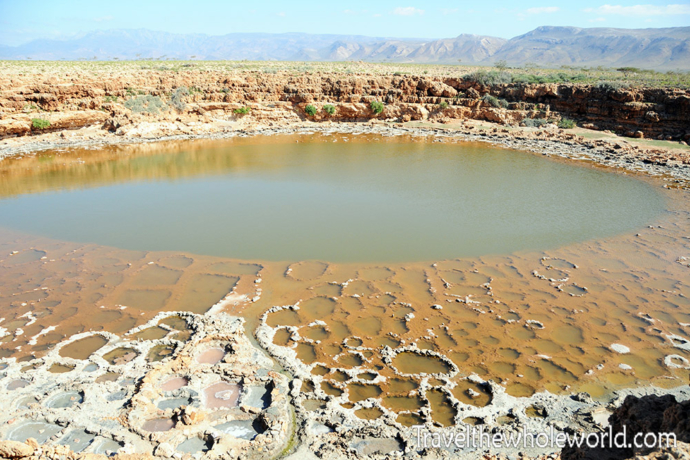 Yemen Socotra Salt Depression