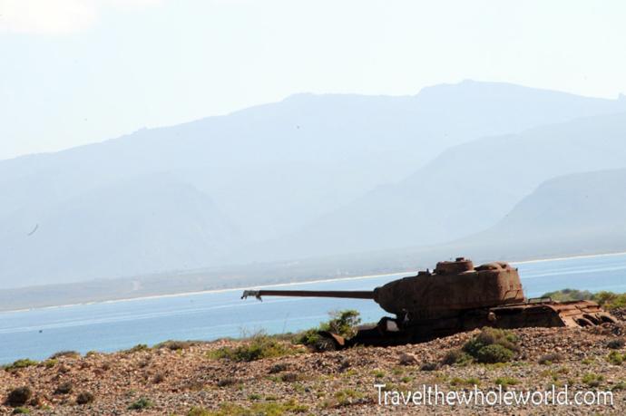 Yemen-Socotra-Tank