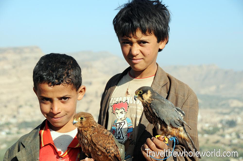 Yemen Wadi Dhar Hawks