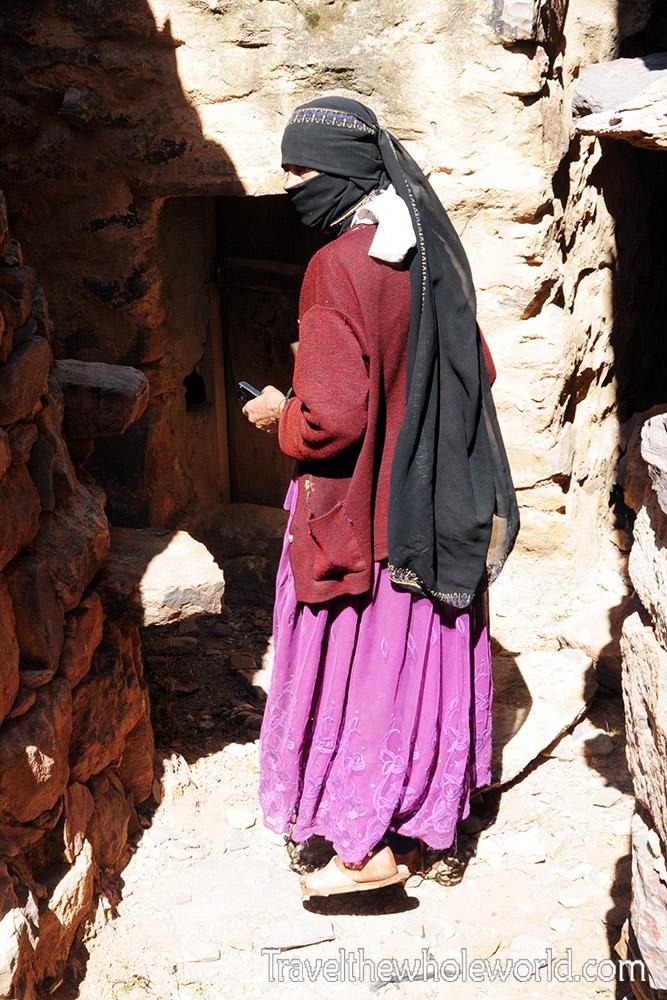 Yemen Zakati Fortress Woman