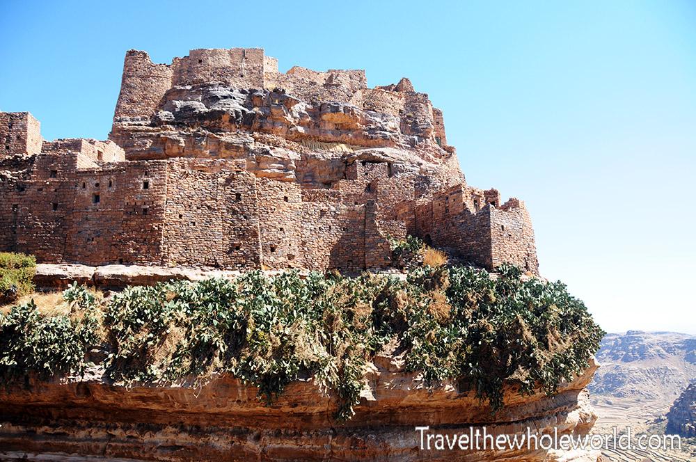 Yemen Zakati Fortress Castle in the Sky