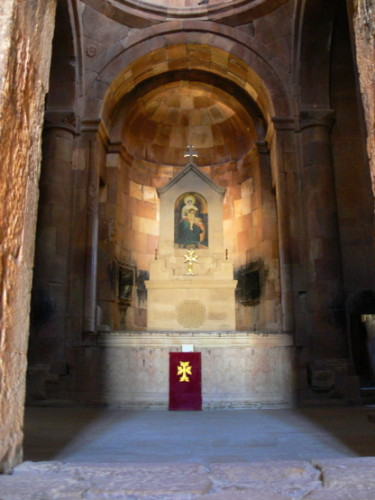Armenia Noravank Prayer