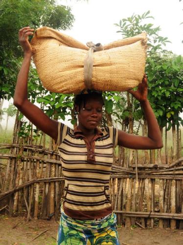 Benin Coastal Village Woman