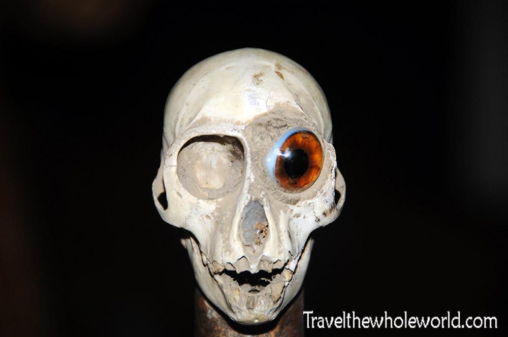 Benin Cotonou Art Skull Voodoo