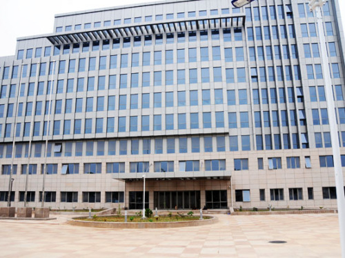 Benin Cotonou Buildings