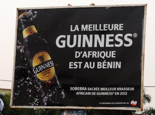 Benin Cotonou Guiness
