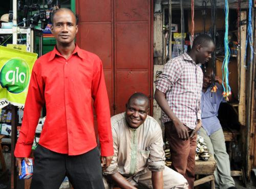 Benin Cotonou Market Guys