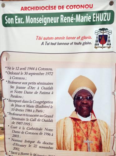 Benin Cotonou Notre Dame Priest