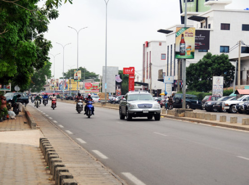 Benin Cotonou Streets