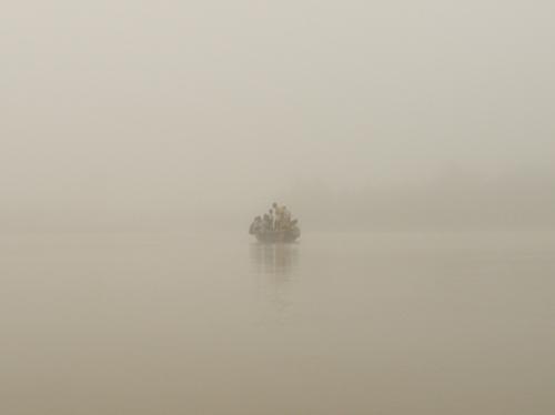 Benin Native Mangrove Boat
