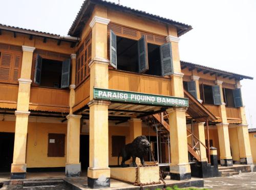 Benin Porto Novo Museum Bombero