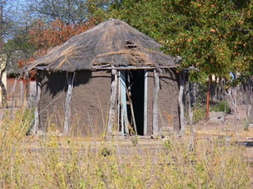 Botswana Village Hut