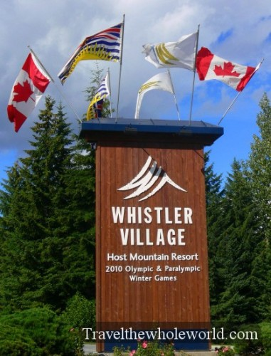 Canada Welcome Whistler