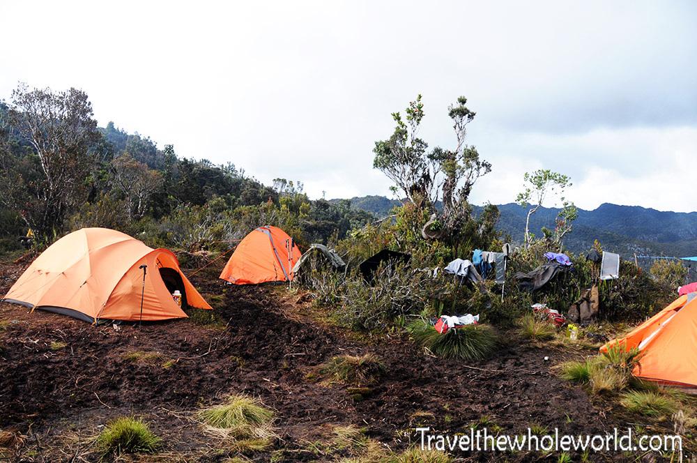 Carstensz Pyramid Camp III