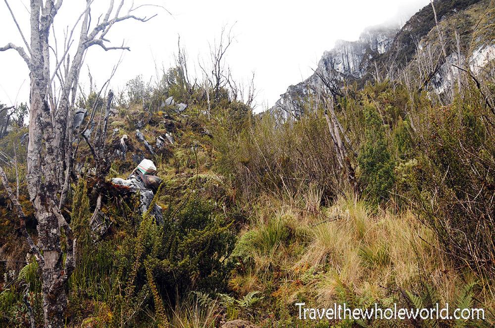 Carstensz Pyramid Highlands Trail Wall