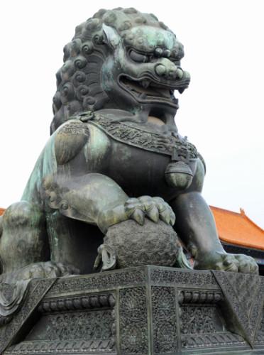 China Beijing Forbidden City Dragon