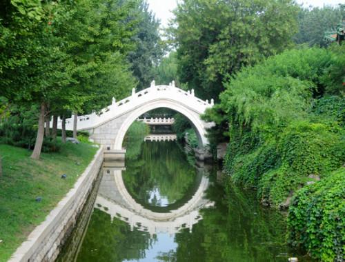 China Beijing Park Bridge