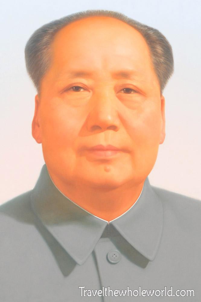China Beijing Tiananmen Square Mao Zedong