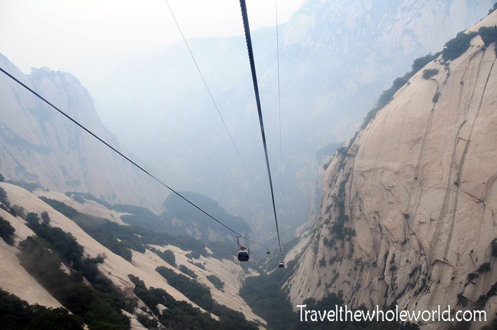 China Mt Huashan Cable Cars
