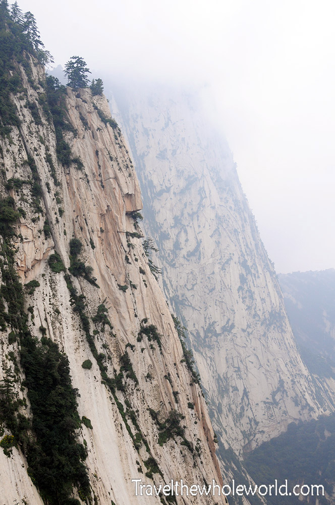 China Mt Huashan Cliff