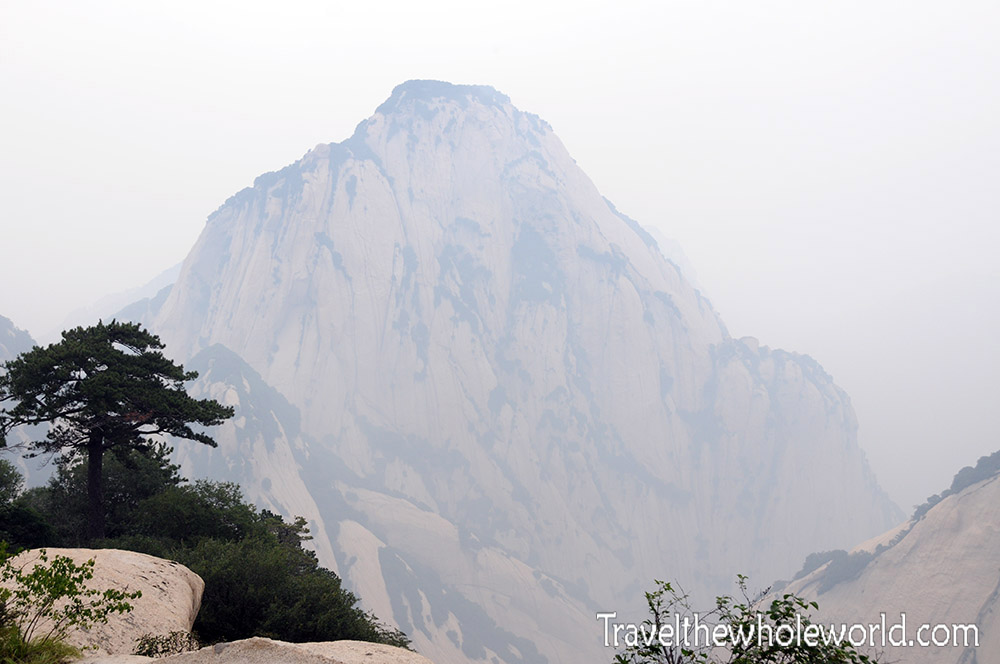 China Mt Huashan Peak