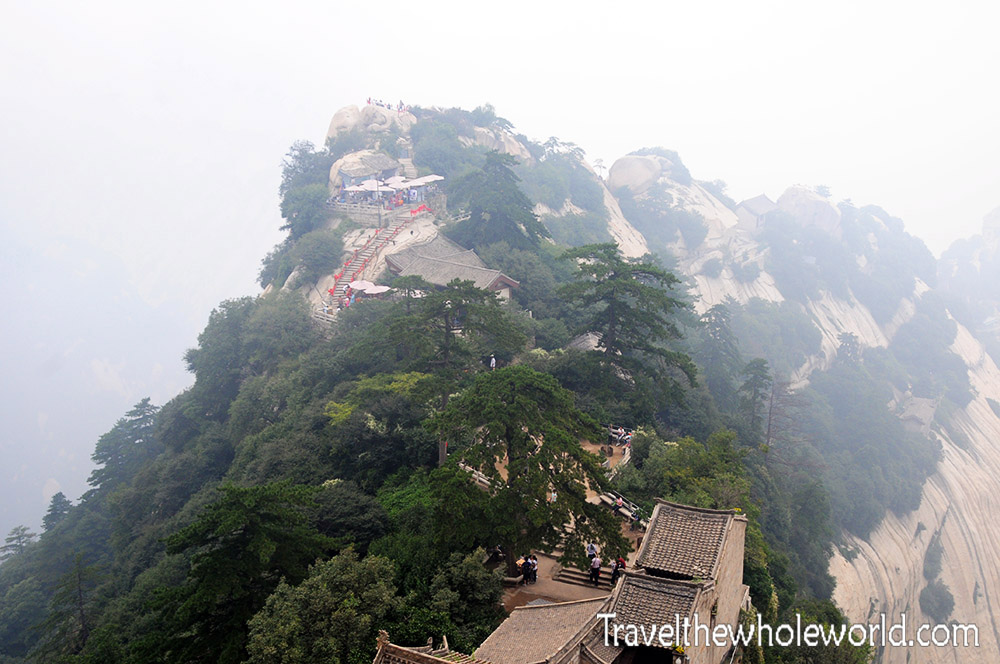 China Mt Huashan Top