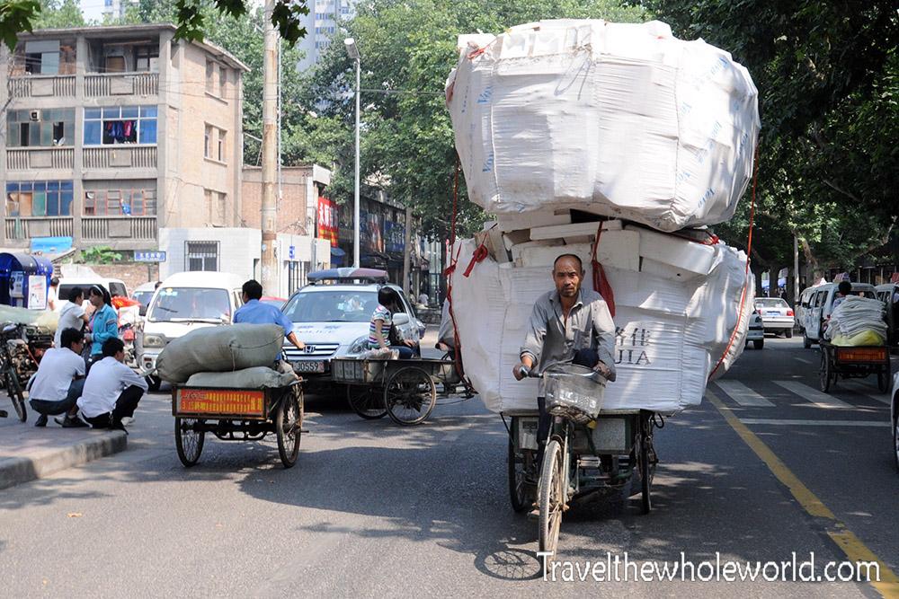 China Xian Bicycle Transport