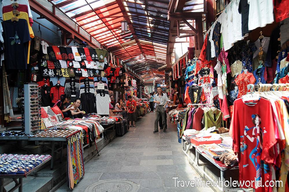 China Xian Market Clothes