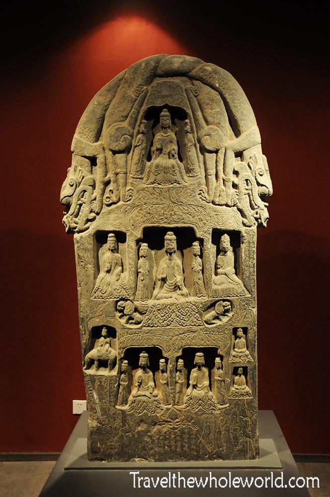 China Xian Steles Museum Statue