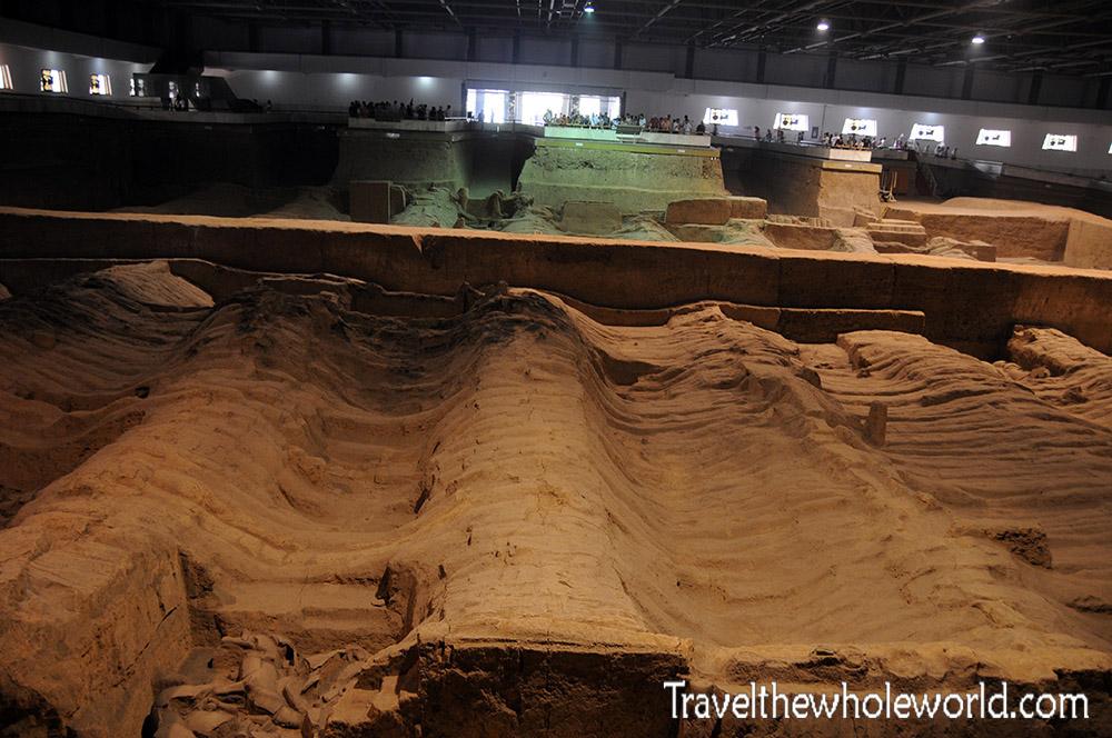 China Xian Terracotta Warriors Pit