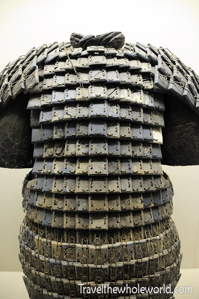 China Xian Terracotta Warriors Stone Armor