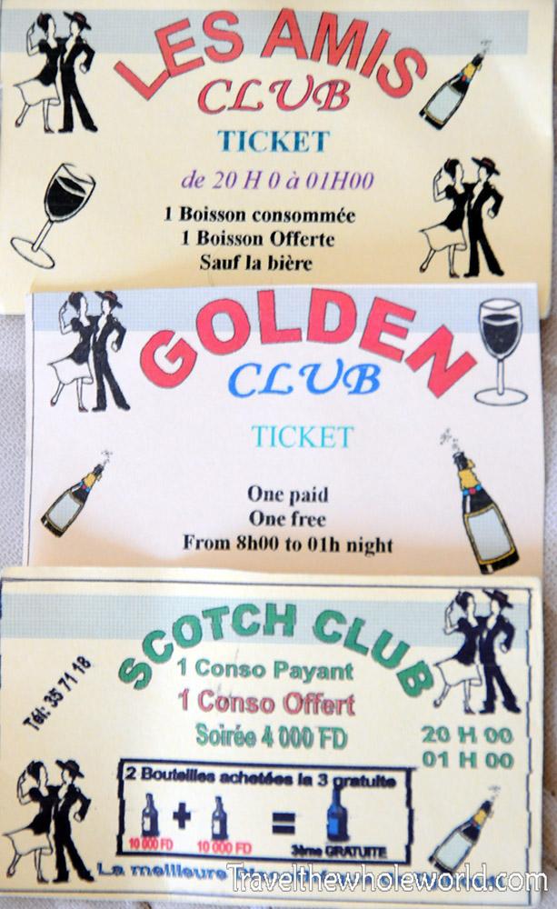 Djibouti City Club Cards